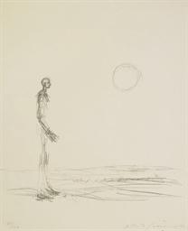 Homme debout et soleil, 1963