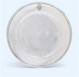 A GERMAN SILVER SERVING-DISH F
