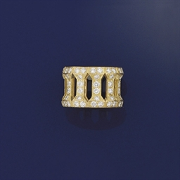A diamond eternity ring by Car