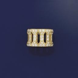 A diamond eternity ring by Car