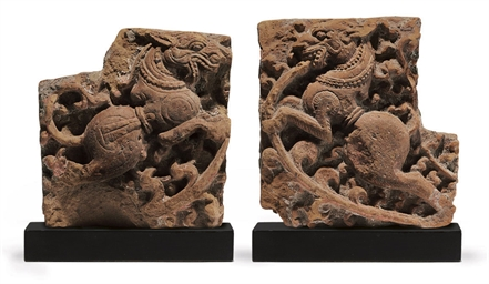 Two terracotta reliefs of myth