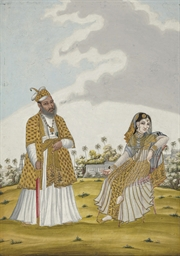 A painting of a Muslim Noblema