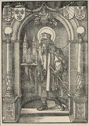 Saint Sebald in a Niche (B. ap