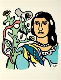 La Femme et la Fleur (Saphire