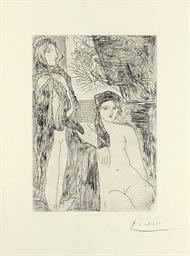 Rembrandt et Deux Femmes, from