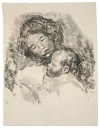 Maternité (grande planche) (De