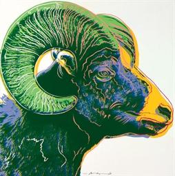 Bighorn Ram, from: Endangered