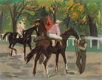 Jockeys à l'automne, Longchamp