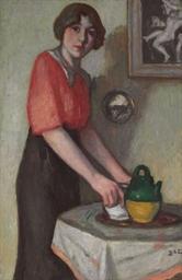 Jeune femme à la cruche