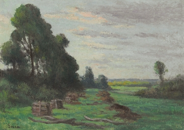 Paysage aux environs de Rolleb