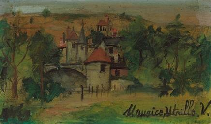 Petit château en Beaujolais