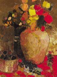 Bouquet au panier de figues