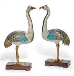 A PAIR OF CHINESE 18TH CENTURY