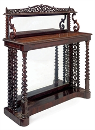 A FRENCH ROSEWOOD CHIFFONNIER