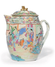 A CANTONESE CIDER JUG AND COVE