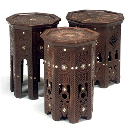 A GROUP OF THREE OTTOMAN HARDW