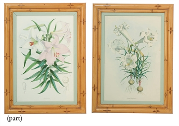 A SET OF SIX LITHOGRAPHS FROM