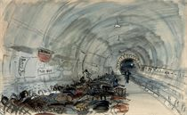 Sheltering from the Blitz: Caledonian Road underground station