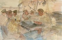 Officers of 151 LF8, El Alamein, 1942