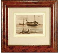 Studies of fishing boats