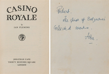 FLEMING, Ian (1908-1964). Casi