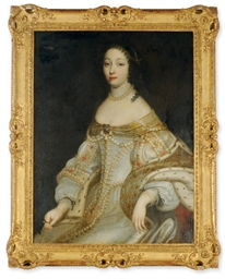Portrait of a noblewoman, thre