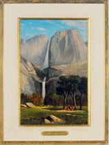 Yosemite Valley, Double Water Falls