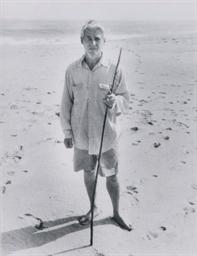 Willem de Kooning on Beach wit