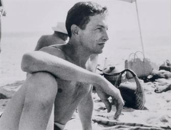 Portrait of Robert Rauschenber