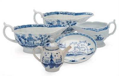 THREE ENGLISH PAINTED CHINOISE