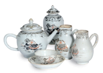 A CHINESE EXPORT PORCELAIN GRI