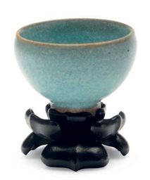 A SMALL CHINESE POTTERY MA JUN
