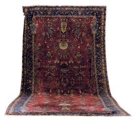 A TURKISH CARPET,