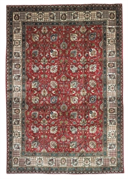 A FINE TABRIZ CARPET OF SHAH-A