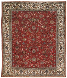 FINE TABRIZ CARPET, NORTH-WEST