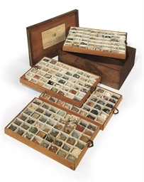 A VICTORIAN CASED COLLECTION O