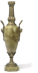 A FRENCH GILT-BRONZE MOUNTED O