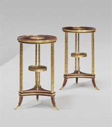 A PAIR OF FRENCH ORMOLU AND AM