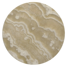 AN EGYPTIAN ALABASTER CIRCULAR