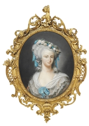 A PASTEL PORTRAIT OF EUGENIE D