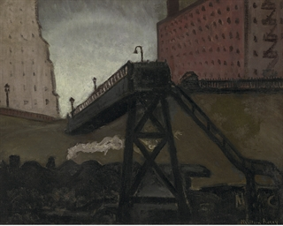 The Coal Elevator, New York