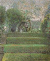 Garden Arbor Scene