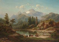 A Mountain Lake in the Tyrol