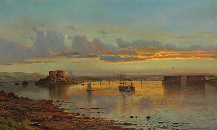 Newport Harbor, Twilight
