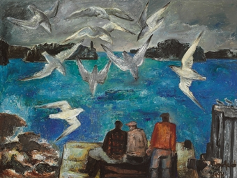 Fishermen and Seagulls, Northe