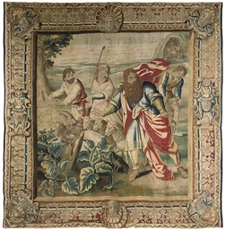A Brussels Biblical tapestry d