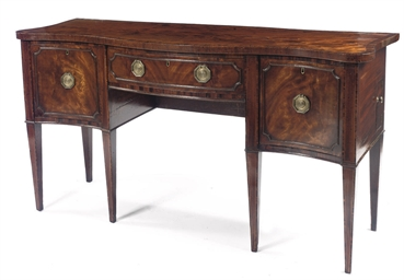 A George III mahogany and rose