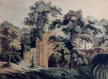 Ruins at the Antient [sic] Cit