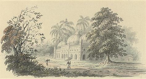 A Mosque near Calcutta