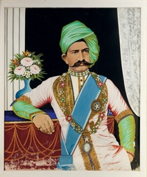 Portrait of Maharaja Mangal Si